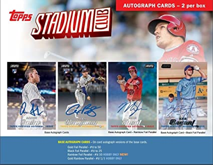 Amazon.com: 2017 Topps Stadium Club Baseball Hobby 16 Pack Box (Factory Sealed): Sports Collectibles