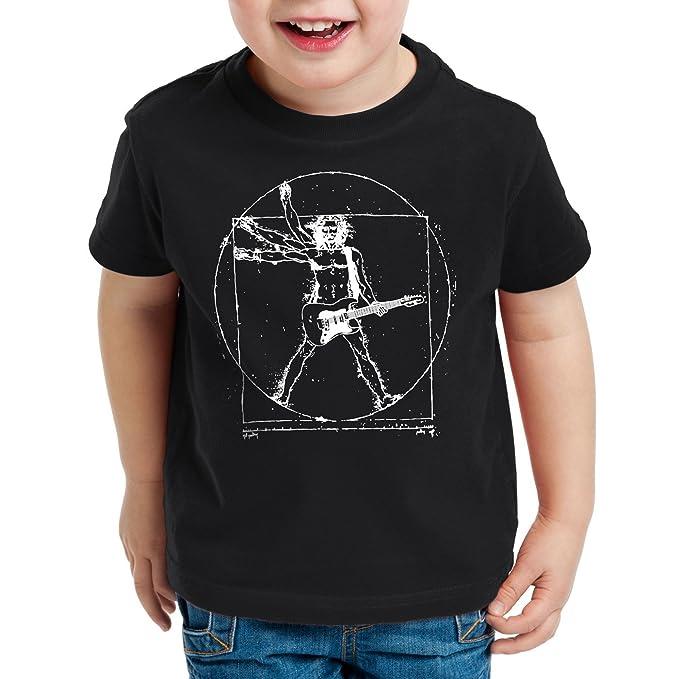 style3 Da Vinci Rock Camiseta Para Niños T-Shirt Música Festival: Amazon.es: Ropa y accesorios