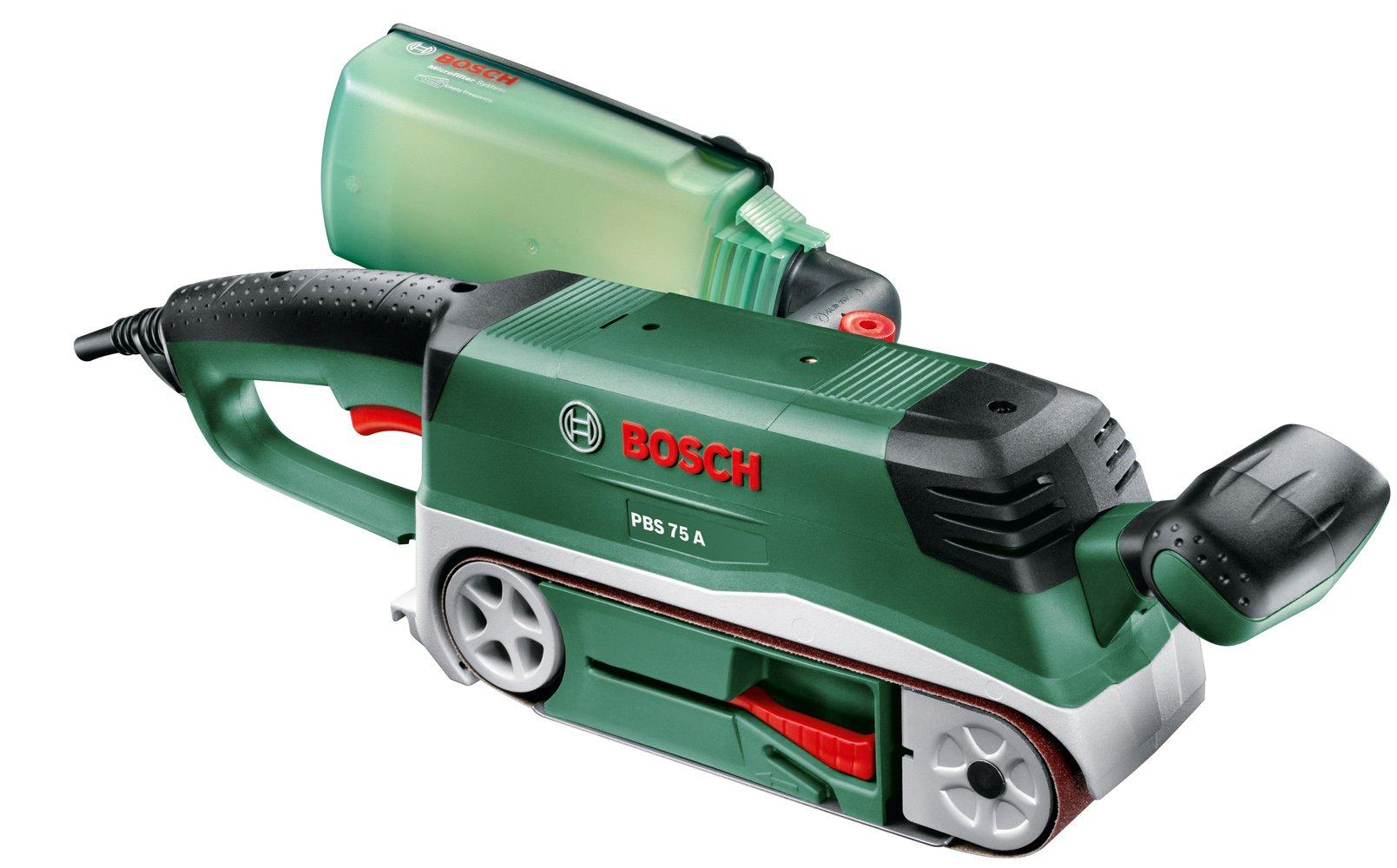 Bosch 0.603.2A1.000 Lijadora de banda, 240 V, Negro, Verde