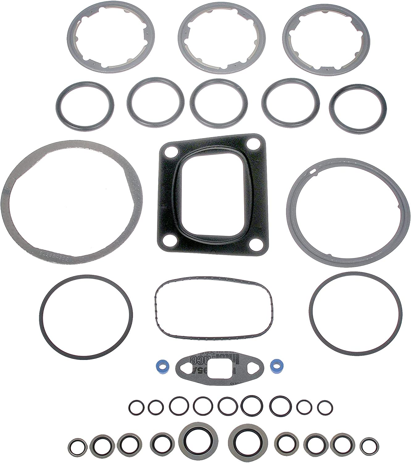 For Kenworth Peterbilt Exhaust Gas Recirculation Cooler Gasket Kit Dorman