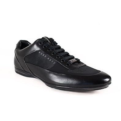 e076a152a4e BOSS Hb Racing Lowp Shoes Black 7 UK  Amazon.co.uk  Shoes   Bags