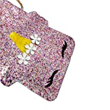 Dodedise Toddler Kids Quilted Glitter Crossbody