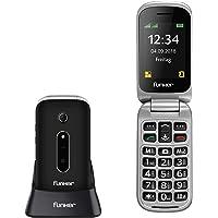 Teléfono Móvil Funker C75 Negro Easy Comfort