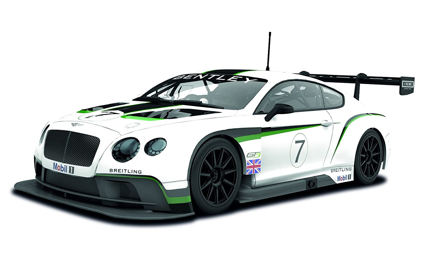 Amazon.com: Scalextric Bentley Continental GT3 (1:32 Scale): Toys U0026 Games