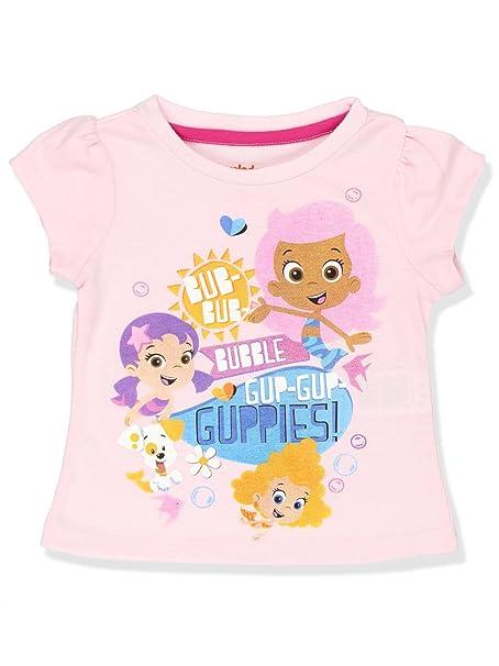 f8247aeca9 Amazon.com  Nick Jr Bubble Guppies Girls Short Sleeve Tee (Toddler)   Clothing