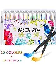acquerello Brush Firbon colori pennarello kit per colorare manga Comic design e calligrafia