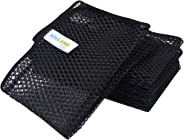 Sunland Mesh Dish Cloths Washing Dishes No Odor Dishes Scrubber Kitchen-Fast Drying Easy to Clean Mesh Dishes Cloth (6pack, B