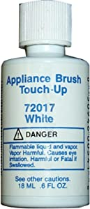 no logo 72030 Appliance Brush On Touch-Up Paint (White)