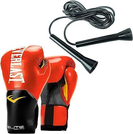 Talla 12 oz Guantes de Boxeo para Entrenamiento Color Negro Everlast Pro Style Elite