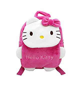 Shoppertize Fabric Kitten Pink Hello Kitty Soft School Bag (Small)   Amazon.in  Bags, Wallets   Luggage 6c61d992ef