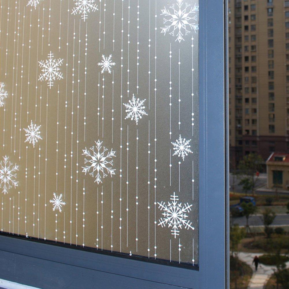 曇りガラス映画クリスマスステッカー不透明ウィンドウステッカーWindows and Windows熱断熱材anti-sai 70x100cm(28x39inch) ZWAWDNC B076MQTXVX  A 70x100cm(28x39inch)
