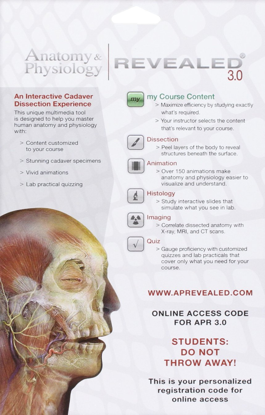 Nett Anatomy And Physiology Revealed 3.0 Download Bilder ...
