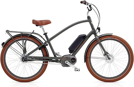 Electra Townie – Go. 8I Ebike Hombre Bosch Motor, 52678, army grey: Amazon.es: Deportes y aire libre