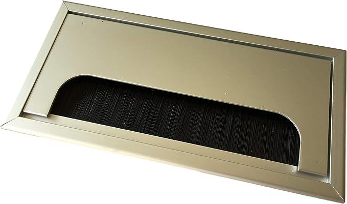 Pasacables 80 x 80 o 80 x 160 mm – Práctico para escritorio taller ...