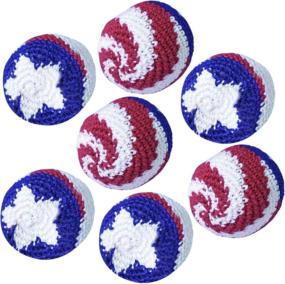 US Flag Day Patriotic Costume Accessories Memorial Day 4th of July D/écor and Party Favors and Independence Day Party Decorations Set of 3 ArtCreativity American Flag Baseball Bat Inflate