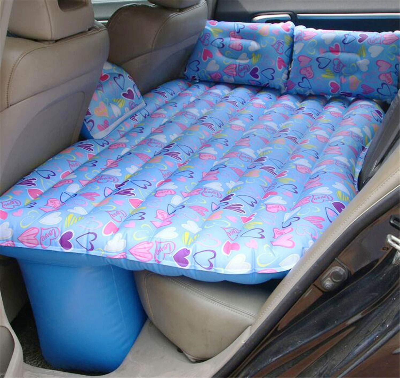 NUO-Z Auto-Luft-kampierende Matratze, aufblasbare Schlafmatte, Ultraleichte Tragbare Schlafkissen-Tasche mit Kissen, für Reise, wandernd