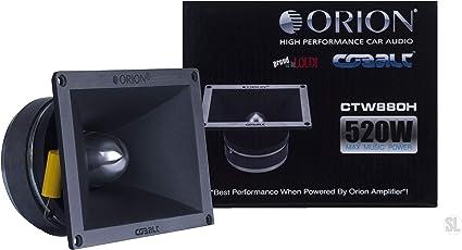 Cobalt Series 3.8 300 Watts Car Audio Bullet Tweeters 2-Pairs Orion CTW1.7HP
