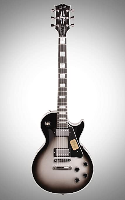 Gibson Les Paul Custom – Silverburst guitarra eléctrica Custom Shop