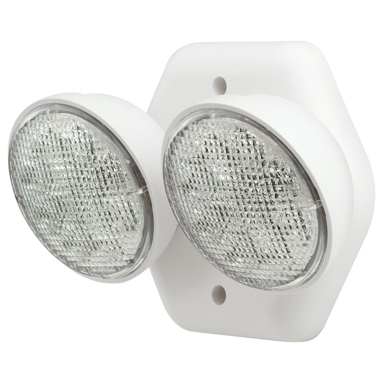 Compass CIRD Hubbell Lighting LED 2 Head Emergency Light