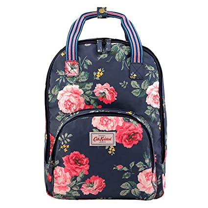 7f0d9a88a8066 Amazon.com: Cath Kidston Matt Oilcloth Multi Pocket Backpack Antique ...