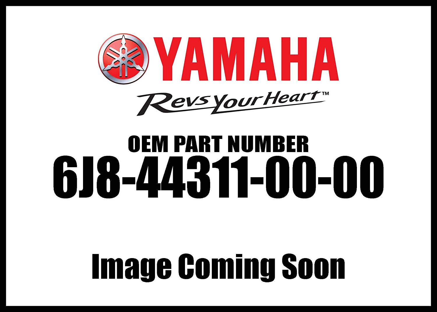 Yamaha 6J8-44311-00-00 Housing, Water Pump; 6J8443110000 Made by Yamaha