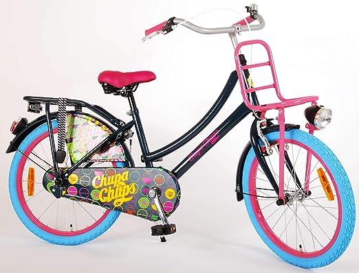 Chupa Chups Bicicleta Chica 20 Pulgadas Negro 95% Montado: Amazon ...
