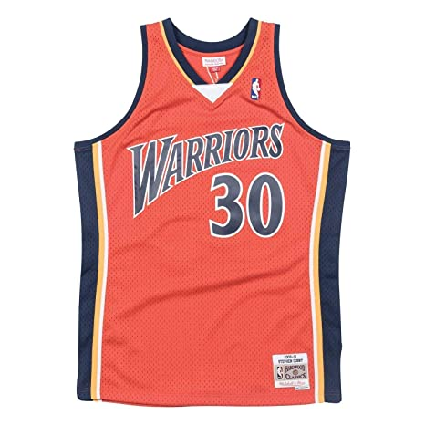Mitchell & Ness Stephen Curry # 30 Golden State Warriors 2009 - 10 ...