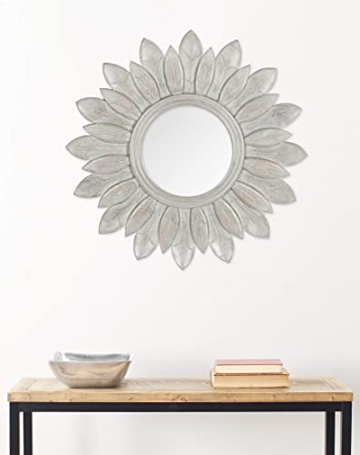 Safavieh Home Collection Sun King Mirror, Grey