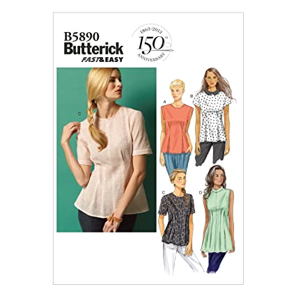 Amazon Butterick Patterns B5890 Misses Petite Top And Tunic