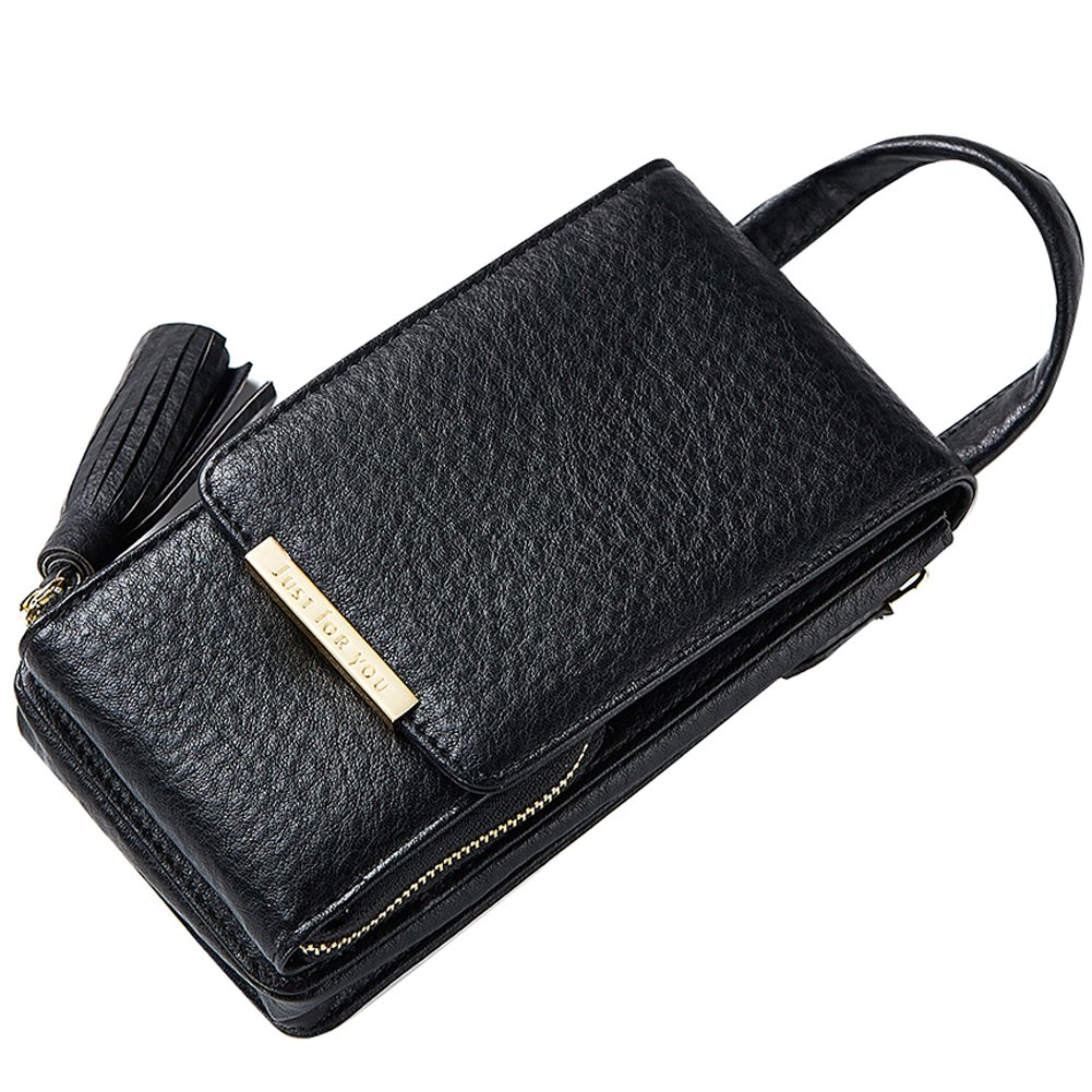 4bce140dd6e Uniuooi Small Bag Women Girls Wallet Chain Shoulder Cross Body Bag PU  Leather Purse Coin Cell Phone Mini Pouch Credit Card Holder Travel Neck  Money ...