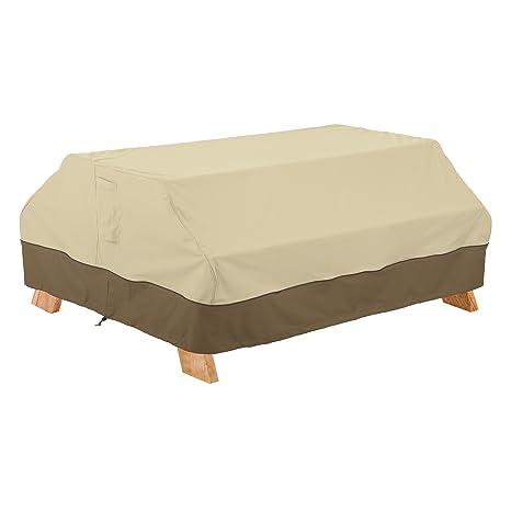 Amazon Com Classic Accessories Veranda Picnic Table Cover Garden