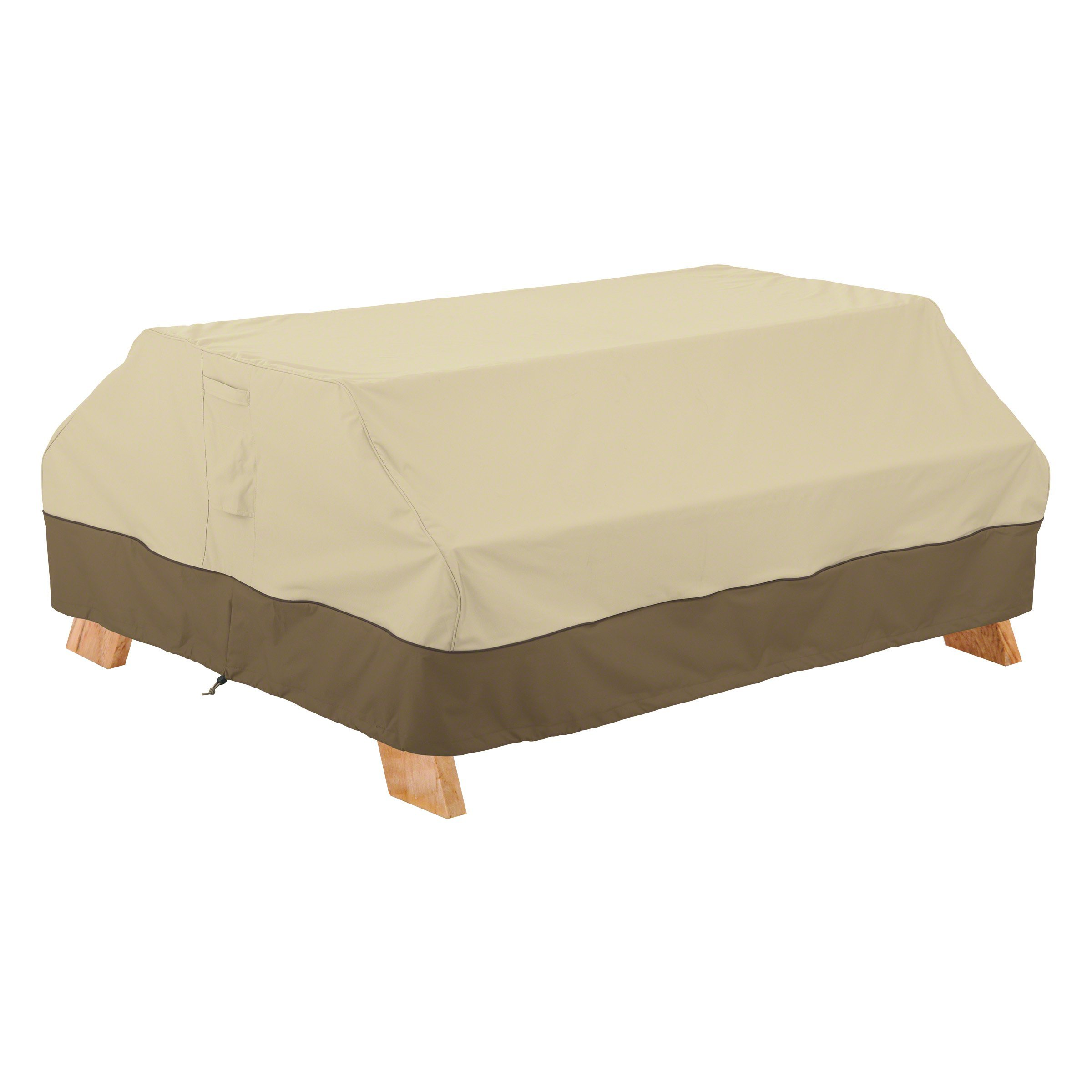 Classic Accessories Veranda Picnic Table Cover - Durable and Water Resistant Patio Set Cover (55-618-031501-00)