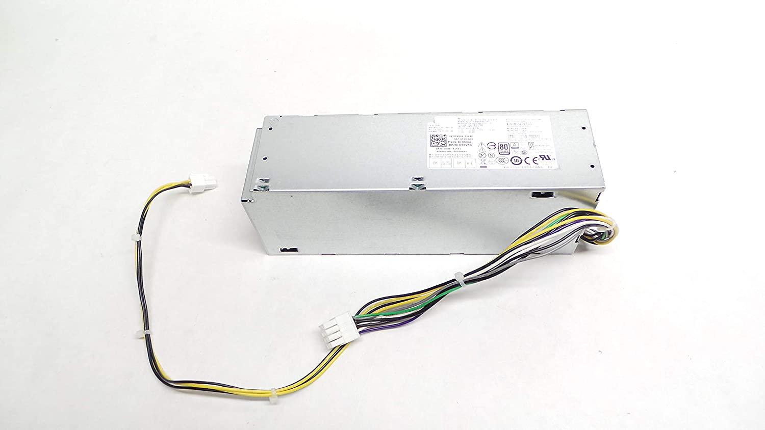 180W SFF Power Supply fits DELL Optiplex 3040 5040 7040 Inspiron 3650 3656 RWMNY WYX72 9XD51 5XV5K GCY55 D3YCN J1J77 D6K0V 0RWMNY 0WYX72 09XD51 05XV5K 0GCY55 0D3YCN 0J1J77 0D6K0V