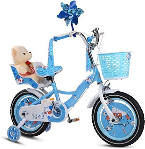ZCRFY Bicicleta para Niños Niñas Cochecito De Bebé Estudiante De ...
