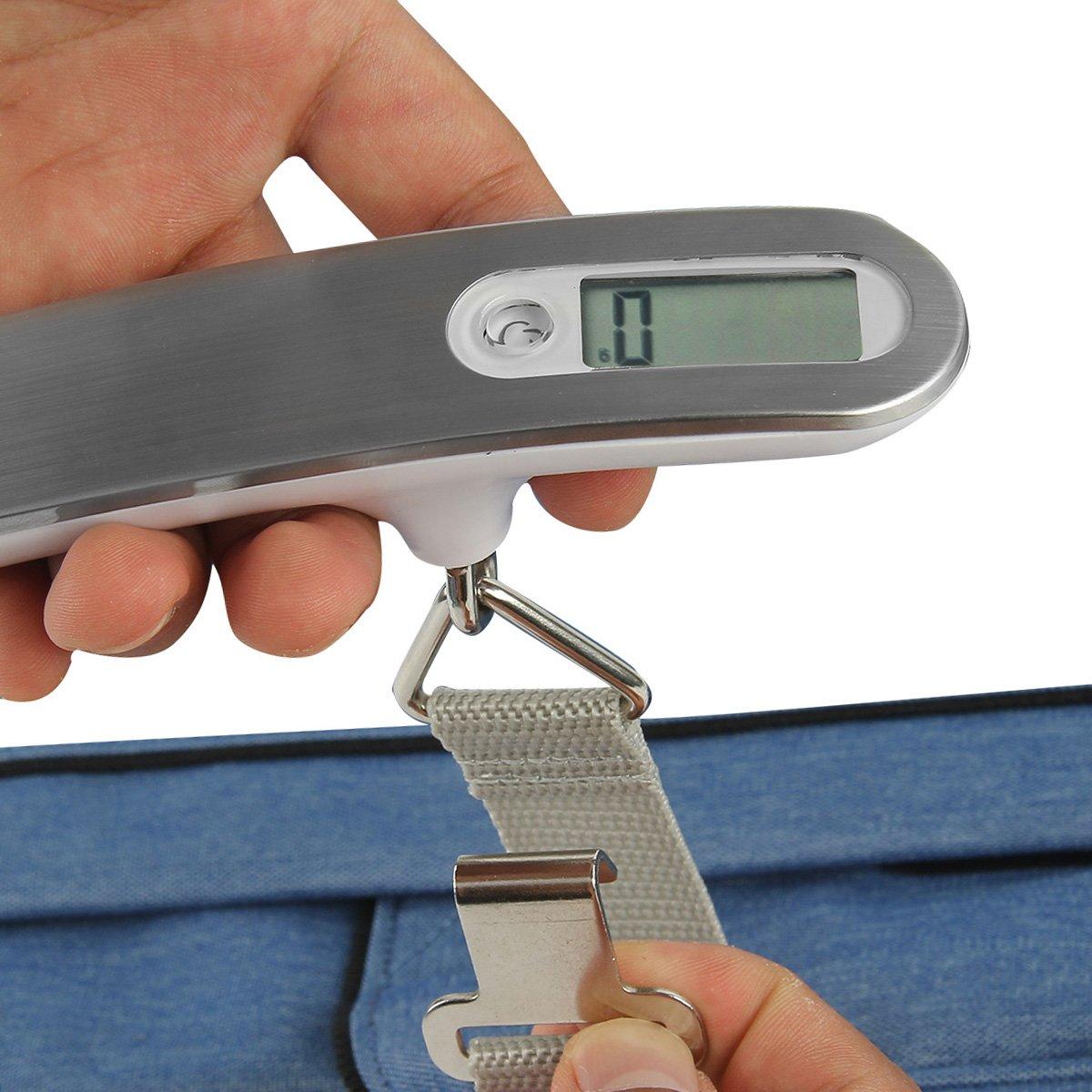 Travel Luggage Scales Pesine Digital Scale 110Ib Hanging weighting scales
