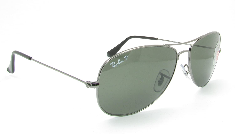 Amazon.com  Ray Ban Sunglasses RB3362 004 58 Gunmetal Crystal Green  Polarized 59mm  Ray-Ban  Shoes c31baba4291