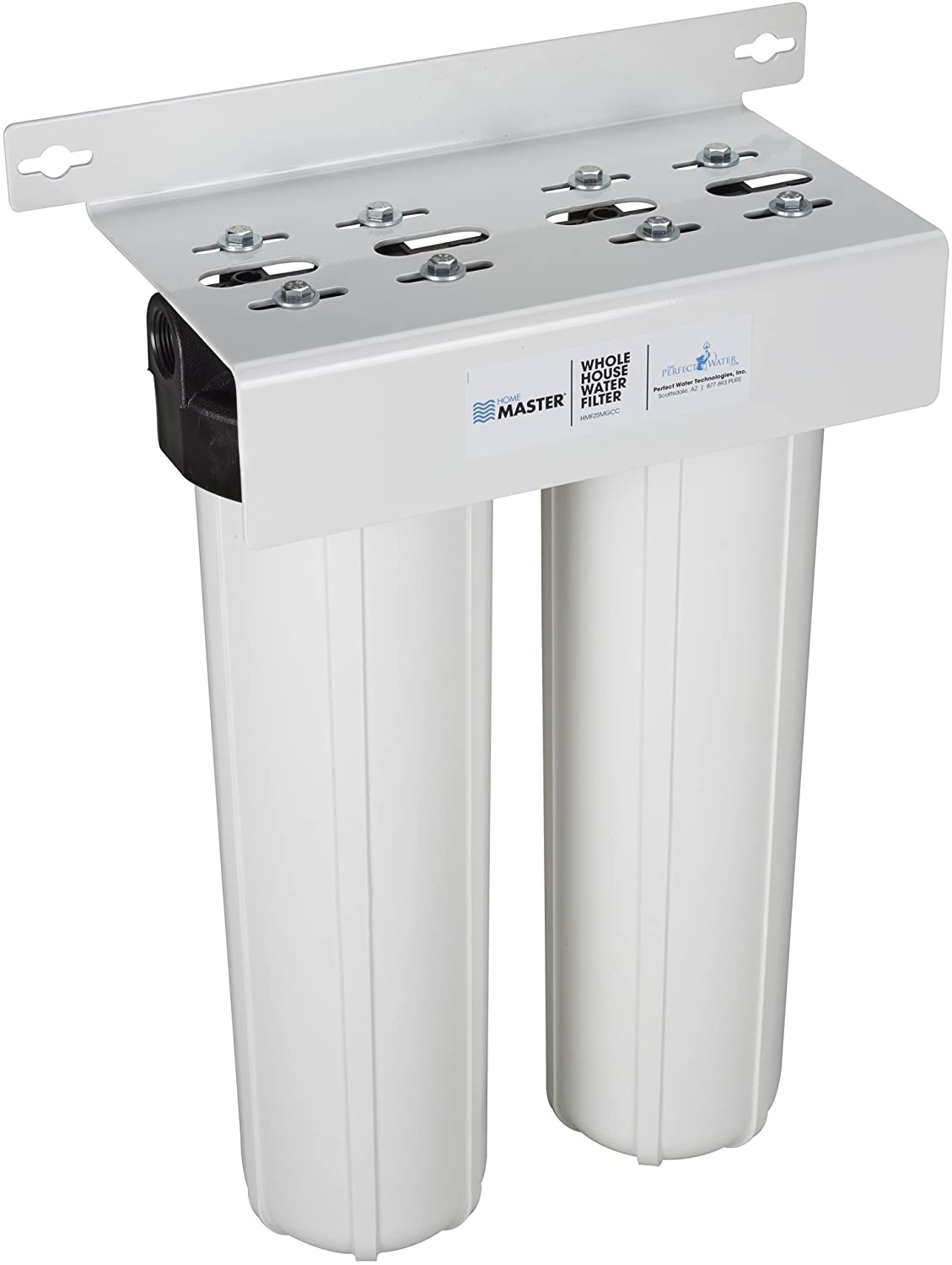 Home Master HMF2SmgCC Whole House Two Stage Filtration System Water Filter: Home Improvement