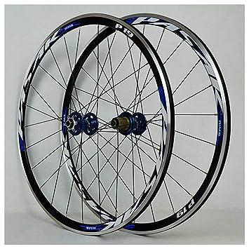 ZNND 700C Ruedas para Bicicleta, Double Wall Ultra Ligero V-Brake Rodamiento Sellado para