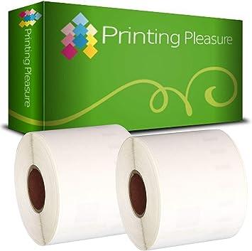 220 Etichette//Rotolo Printing Saver 99014 54 x 101 mm Compatibile Rotolo Etichette adesive per Dymo LabelWriter 310 320 330 4XL 400 450 Turbo//Twin Turbo//Duo /& Seiko SLP etichettatrici