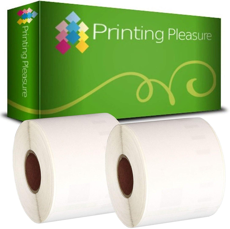 etichetta per Rotolo: 220 Printing Pleasure Kit 3 99014 54mm x101mm Etichette Adesive Compatibile per Dymo LabelWriter 4XL 450 400 330 320 310 Twin Turbo Duo Seiko SLP 450 400 240 200 120 100 Pro
