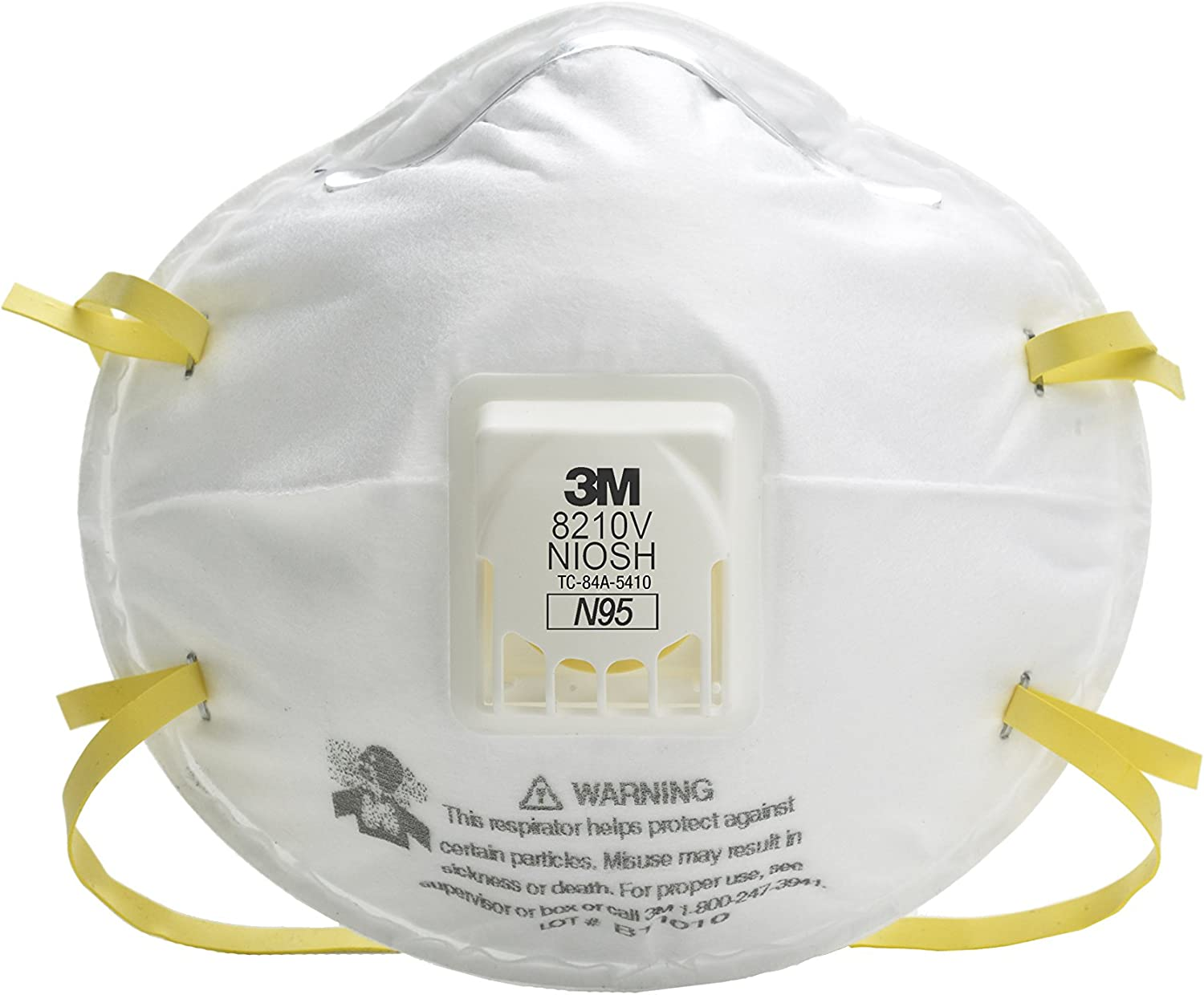 Respirator box Protection Particulate 30 N95 tm 8210v 3m Respiratory