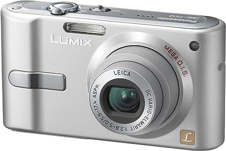 Panasonic Dmc Fx12 Eg S Digitalkamera 2 5 Zoll Silber Kamera