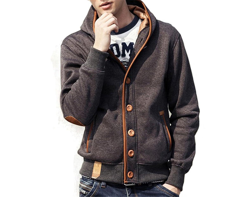 Ganxinnan Fleece-Outerwear-jacketsJaqueta Masculina Casaco Chaqueta Hombre Moleton Hoodies Top ZHZ1898 at Amazon Mens Clothing store:
