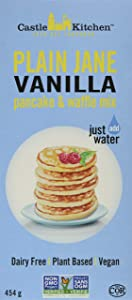 Plain Jane Vanilla Pancake & Waffle Mix Castle Kitchen Foods - Plain Jane Vanilla Pancakes and Waffle Mix