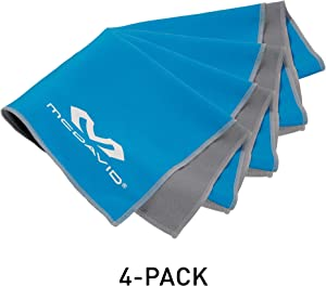 McDavid [4 Pack Cooling Towels for Workout, Yoga, Sports, Fitness, Gym and More. Ucool Keeps Your Body Cool.