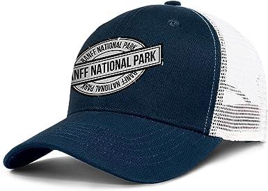 Yellowstone National Park Baseball Hat Men Women Adjustable Mesh Outdoor Flat Cap