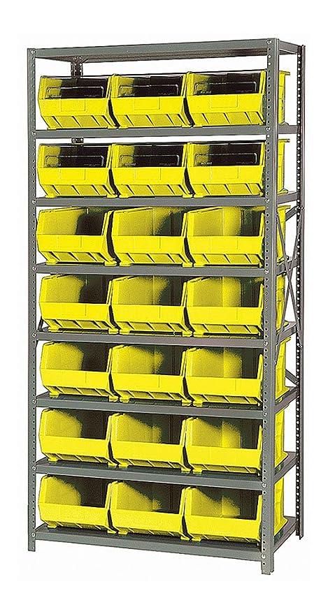 Amazon Com Quantum 8 Shelf Giant Open Hopper 21 Qus255 Bin Storage
