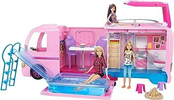 Oferta amazon: Barbie - Supercaravana de Barbie - autocaravana barbie - (Mattel FBR34)