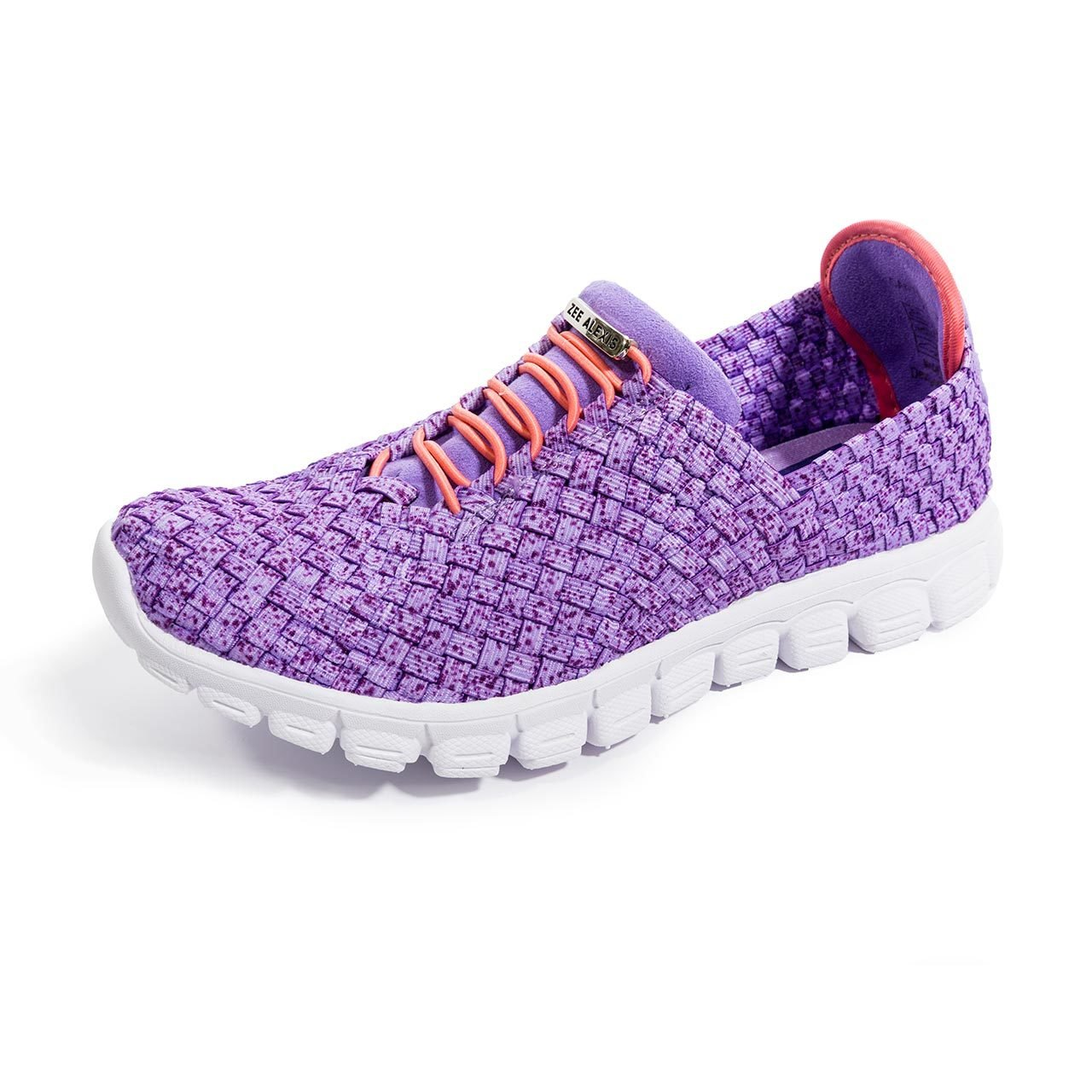 Zee Alexis Women's Danielle Fashion Sneakers B079V5995Q 40 M EU|Purple Speckle