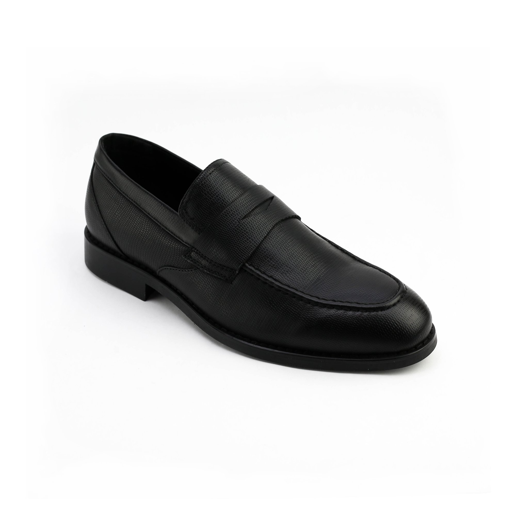XRAY Mens Driving Car Garnet Penny Loafer Shoes-Black-12 by XRAY